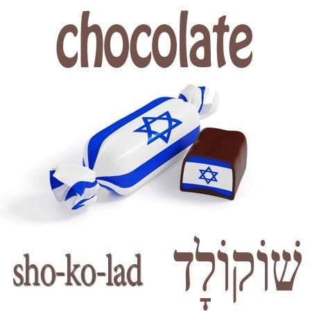 Hebrew Word of the Day (chocolate)