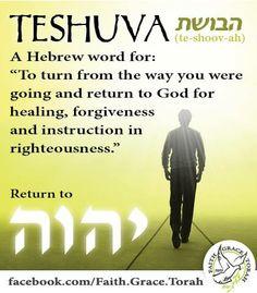 teshuvah (repentance)