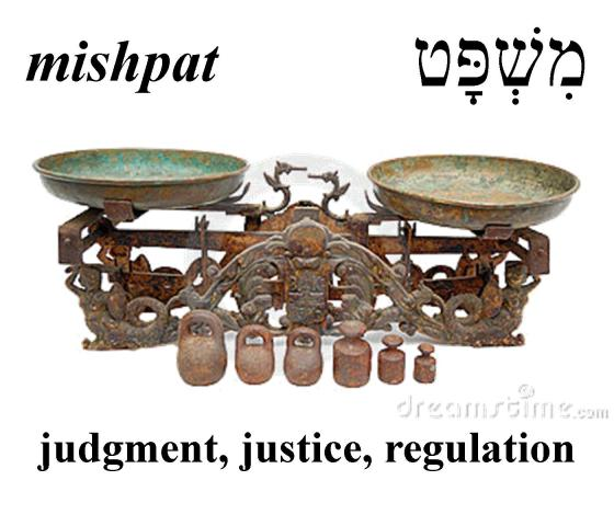 Hebrew Word of the Day (mishpat)